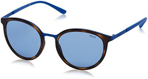 Polo Ralph Lauren POLO 0PH41056987, Montures de Lunettes Femme, Bleu (Shiny Navy Blue/Bluette-Grey), 54