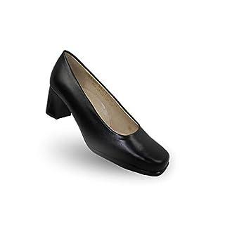 Allegro de Jallatte Amandine ORO CI Safety Shoes Work Shoes Professional Shoes Waiter Shoes Business Shoes Flat Black, Size:37 EU