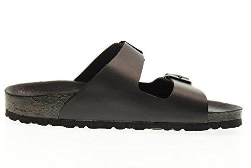 VALLEVERDE chaussures unisexe pantoufles NOIR G51181 (36-40) Black