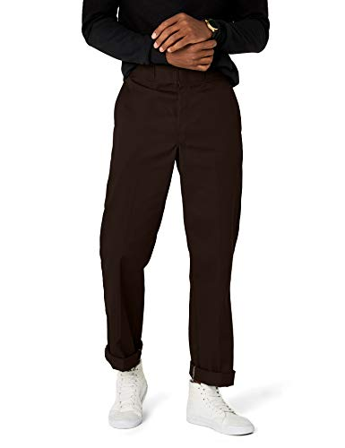 Dickies Herren Sporthose Streetwear Male Pants Original Work, Braun (Dark Brown DB), 36W / 34L Original Chino