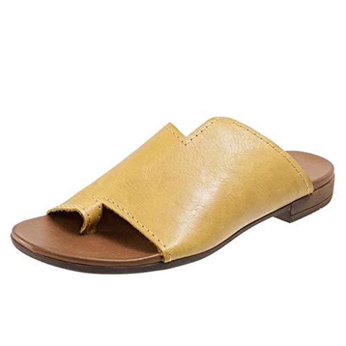 Kaister Damen mode Urlaub Wohnungen offene Zehe Ankle Strand Schuhe römische Hausschuhe Sandalen Plateau Sandalette -