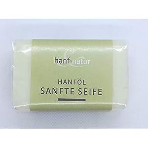 3 Stück Sanfte Hanföl Seife, 100 Gramm