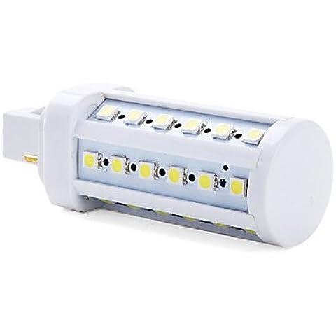 YangR* G24 5W 36x5050 350-400SMD LM 5500-6500K naturale bianco lampadina