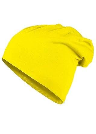 MasterDis Mütze KMA Jersey Beanie, Farbe: neongelb