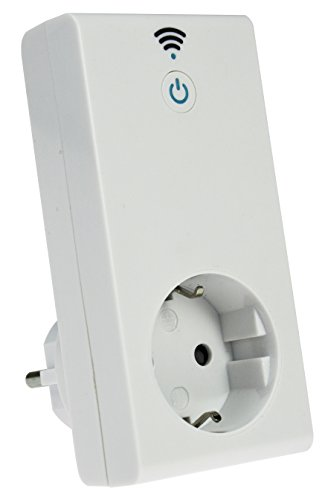 Preisvergleich Produktbild as - Schwabe W-LAN-Steckdose, steuerbar über Internet via Smartphone-App, Android und IOS, intelligente Smart-Home Schaltsteckdose, 1 Stück, weiß, 24081