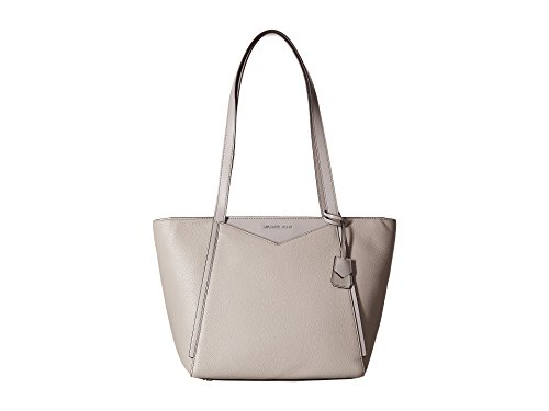 MICHAEL Michael Kors Whitney Small Pebbled Leather Tote, Color 081 Pearl Grey