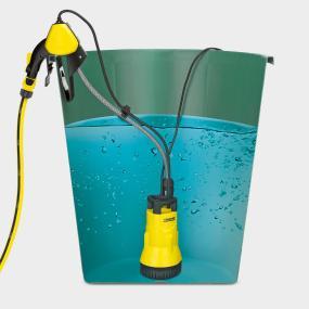 Kärcher Regenfasspumpe mit Zubehör BP 1 Funktionsweise