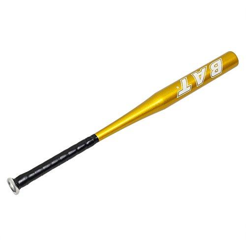 YAOBLUESEA Aluminum Baseball Bat Baseballschläger Schläger 28 Zoll ca.71cm Gold