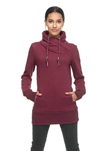 Ragwear Damen Neska Sweatshirt rot XL