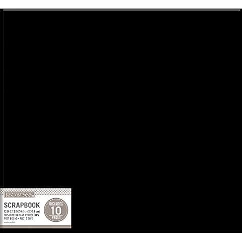 K Company &-Leather, colore: nero, 30 x 30 cm, in acrilico, multicolore