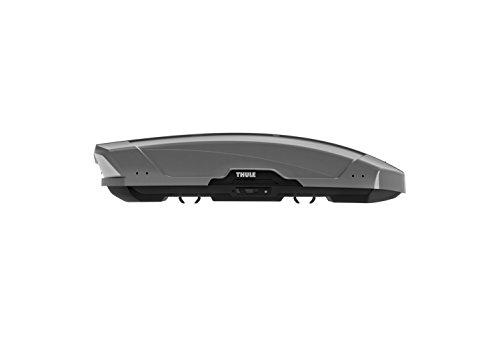 Thule 629800 Coffre de Toit Rigide Motion XT 6298T, Titan Glossy Gris, Taille XL