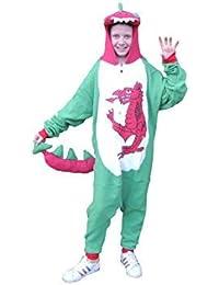 Unisex Onesie con capucha de dragón de Gales y cola – Kids ...