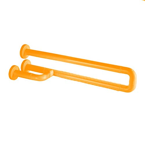 Leuchtstoff Bad (ATR Badezimmer-Handlaufrahmen, Toilette U-förmiges Nylon aus rostfreiem Stahl Leuchtstoff Umweltschutz rutschfest Raumtemperatur Multi-Standard gelb weiß rutschfest)