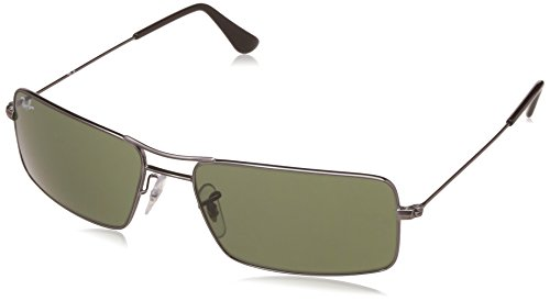 Ray-Ban UV Protected Oversized Men's Sunglasses - (0RB3305I00458 58 Crystal Green Color)
