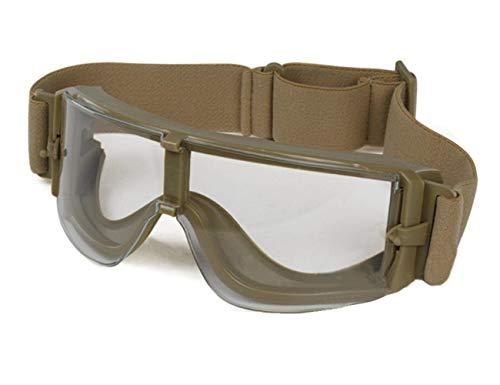 haoYK Taktische Airsoft Sportbrille Schutzbrille für Motorradfahrer Laufen Reiten Fahren Fahrrad Outdoor Militär Brille, DE