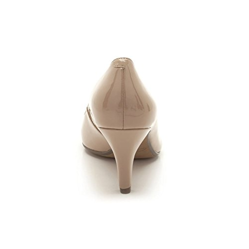 Clarks Arista Abe Damen Pumps Beige