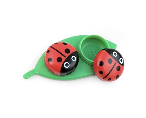 Kikkerland MG51 Ladybug – Estuche para lentes de contacto