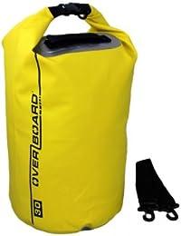 OverBoard - Bolsa de playa impermeable capacidad 30 l color amarillo