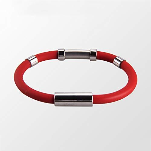Anti-Statik-Armband, um den menschlichen Körper elektrostatische Armband Armband Armband Armband zu entfernen, um statische Männer und Frauen Armband - männlich -19cm zu beseitigen