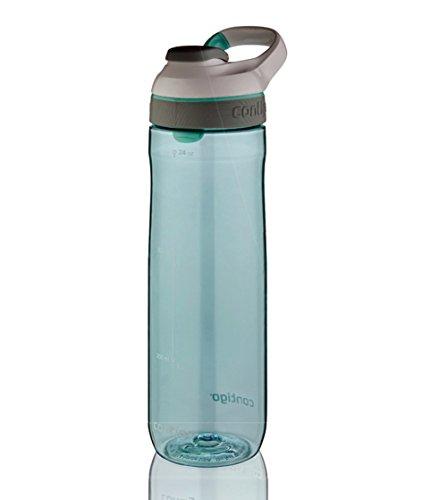 Contigo Trinkflasche Cortland, Grayed Jade/White, (Jade Kontaktlinsen)