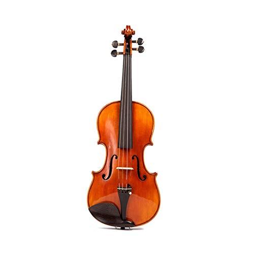 Violinen Full-Plate-Ahorn-Profi Band-Performance-Instrument Ahorn-Zubehör Gib einen Geigenbeutel (Color : Red4/4) Band-service Plate