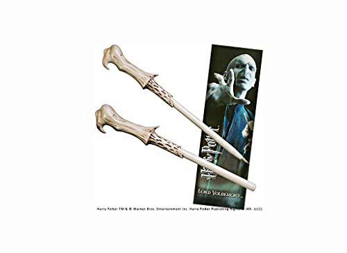 Noble Collection - Penna Bacchetta di Voldemort e Segnalibro - Harry Potter NN8638
