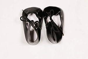Zapato de Barniz para muñecas Sturm 3843-60, Color Negro