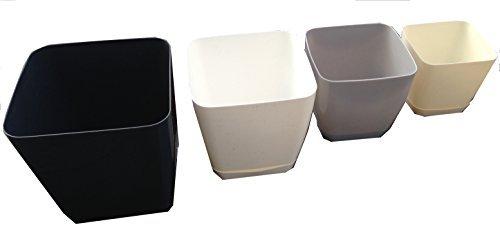 4-x-blumentopf-cubio-serie-viereckig-glanz-kunststoff-eckig-pflanztopf-white-l14cm