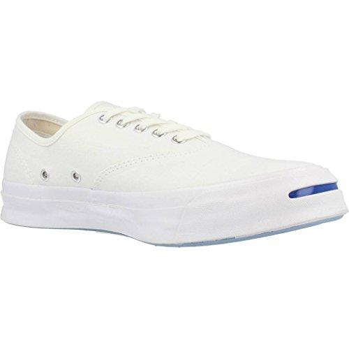 Basket, couleur Blanc , marque CONVERSE, modèle Basket CONVERSE JP SIGNATURE CVO OX Blanc Blanc