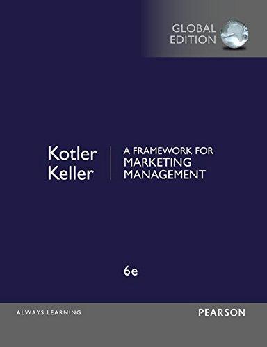 A Framework for Marketing Management, Global Edition (English Edition) de [Kotler,