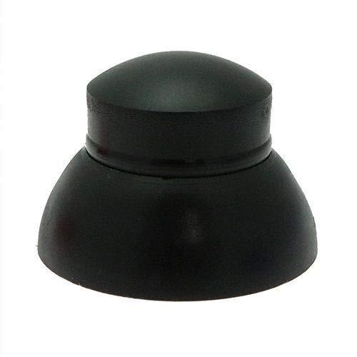 Lot de 20 Cache-écrous et boulons, couleurs assorties, sécurisés, Idéal pour une utilisation dans les aires de jeu et pour les équipements scolaires., M8, Noir , 1