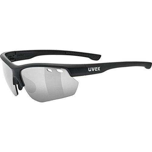 Uvex Unisex Erwachsene Sportstyle 115 Sportbrille, Black Mat, One Size 115