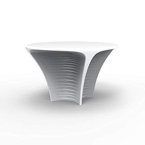 Vondom Biophilia table pour l'extérieur avec surface HPL diam.120 cm blanc