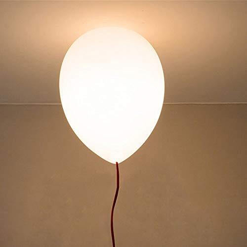 Kreative Ballon Kronleuchter Kinderzimmer Dekoration Anhänger Beleuchtung Glas Lampenschirm hängen Lichter, für Party Festival Schlafzimmer Wohnzimmer Kinderzimmer Home Interior Deckenleuchte (Beleuchtung Schatten Anhänger Glas)