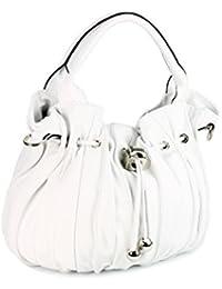 "Belli ""Globe Bag ital. Nappaleder Shopper Handtasche Damentasche - Farbauswahl - 30x21x24 (B x H x T)"