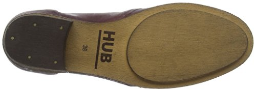 N80 Hub Stiefel Rot Kurzschaft Damen Burgundy Hub 063 Chuckie Damen fqwIS