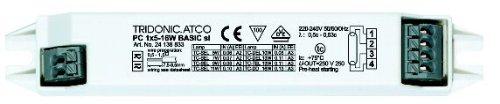Tridonic Elektronisches Vorschgaltgerät Mini EVG PC 1x18-24 Watt BASIC länglich -