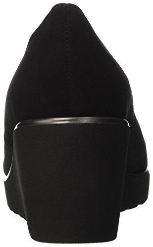 Melluso R45000, Mocassins Pour Femme Noire