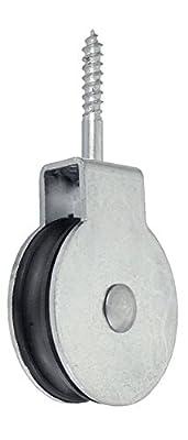 Connex DY270530 Vogelrolle Durchmesser 40 mm, verzinkt