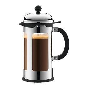 BODUM 0.35 Litre/12 oz Borosilicate Glass Chambord 3-Cup Coffee Maker, Copper_Parent from Bodum