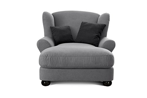 Cavadore 2271686 XXL-Sessel Love Seats  grau - 2