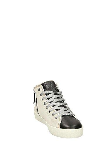 Crime London 25323KS1 Sneakers Alte Donna Bianco
