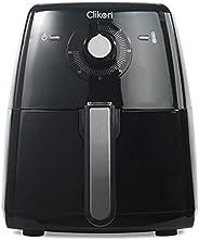 مقلاة كهربائية اير شيف كهربائية 2.5 لتر من كليكون - Ck2295 - لون اسود