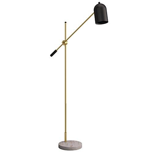 Eisen Stehlampe Marmor Basis Wohnzimmer Schlafzimmer Sofa Nachttischlampe Einstellhöhe