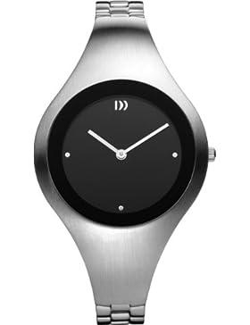 Danish Design Damen-Armbanduhr Analog edelstahl grau DZ120146
