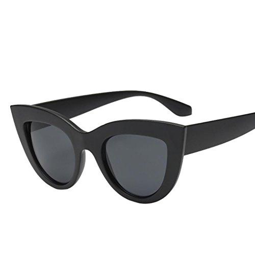 AIMEE7 Lunettes de Soleil Chaud Unisexe Pas cher Lunettes de Soleil Femme Classiques Lunettes de Soleil chat Chic Rétro Sunglasses 2018 Mode Clout Goggles Vintage Eyewear (F)