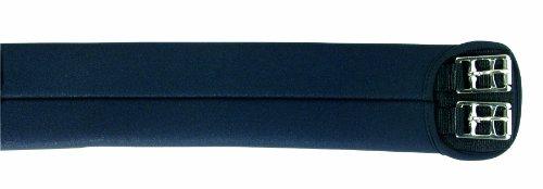 Pfiff 005018 Pfiff Soft Kurzgurt, kurzer Sattelgurt, Schwarz 50cm