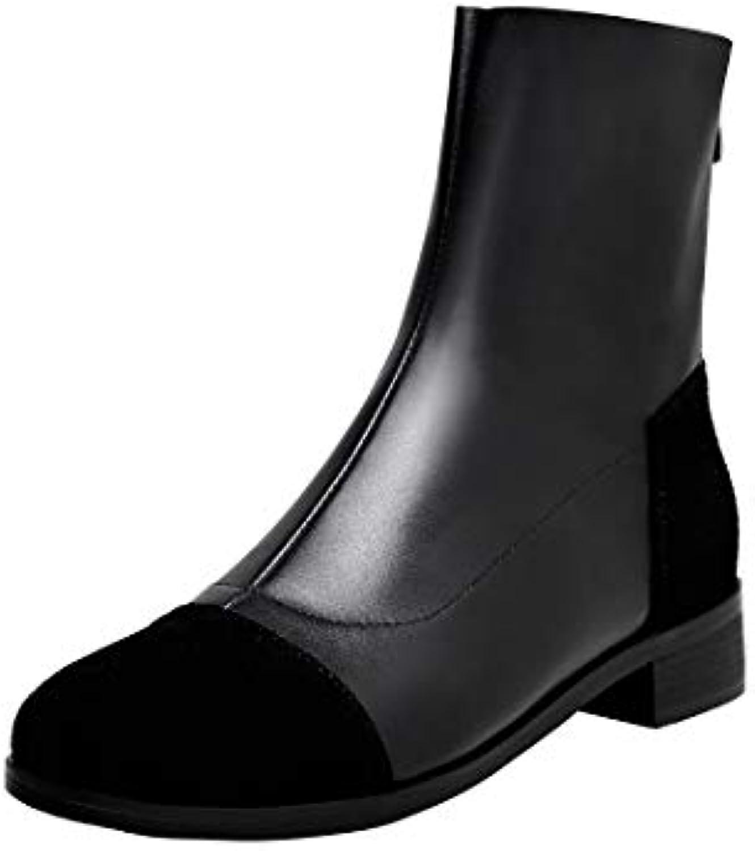 MAYPIE Donna Toare Toare Toare  Leather Cerniera Tacco a Blocco Stivali | Nuovo Prodotto 2019  | Uomo/Donna Scarpa  29dddd