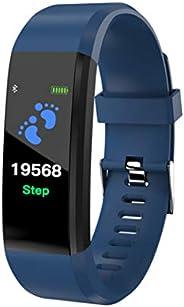 Tracker fitness, orologio da polso fitness Bluetooth multiuso, orologio tracker attività orologio intelligente