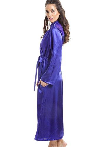 Vestaglia da donna deluxe - in raso - viola Viola